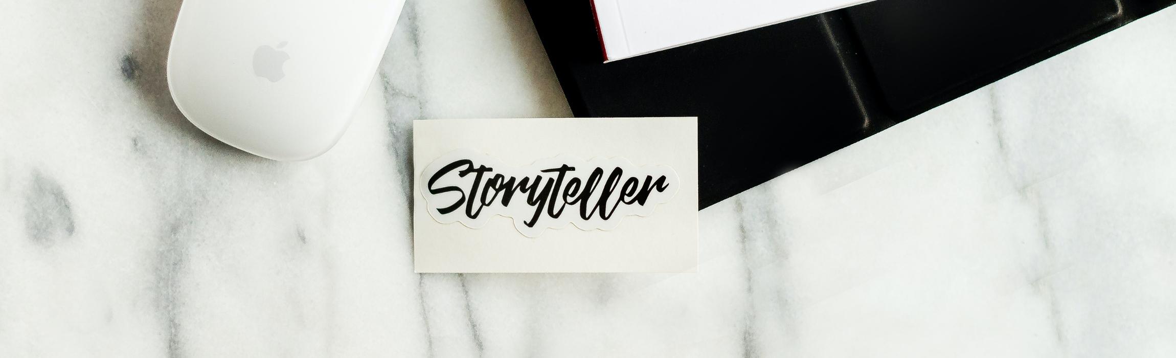 Storyteller card