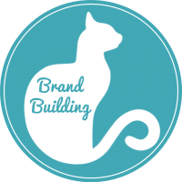 Brand Building Cat Badge 2